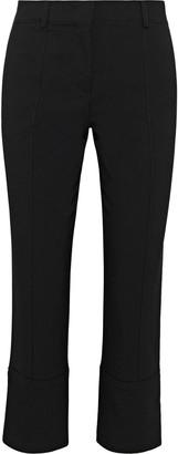 Emilio Pucci Cropped Wool-blend Twill Slim-leg Pants