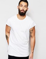 Only & Sons T-shirt With Capped Sleeve