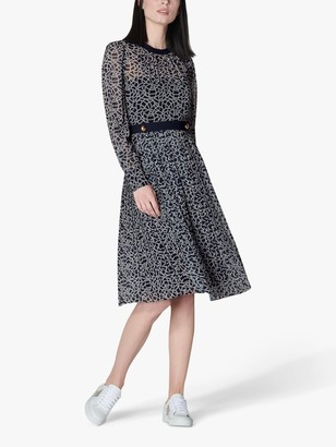 LK Bennett Deneuve Dress, Blue