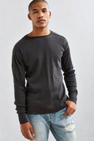 Urban Outfitters Essential Ribbed Thermal Long Sleeve Tee