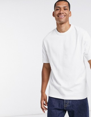 ASOS DESIGN loose fit heavyweight t-shirt in white