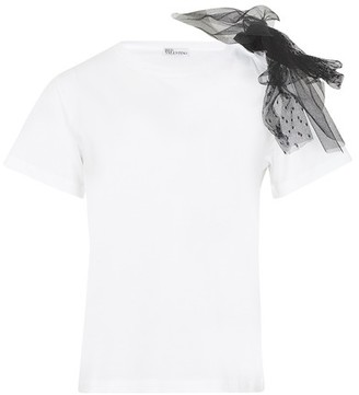 RED Valentino T-shirt with tule