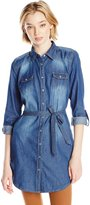 YMI Jeanswear Junior's Chambray Tunic, N