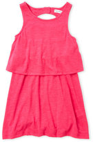 Splendid Toddler Girls) Popover Slub Knit Dress