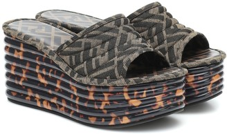 Fendi Promenade platform sandals