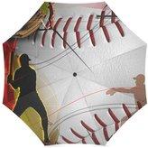 Baseball Umbrella Best Friends/Sisters/Brothers Gifts Stylish Baseball Pattern 100% Fabric And Aluminium High-quality Umbrella