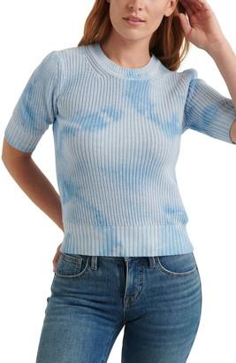 Lucky Brand Tie Dye Crewneck Sweater