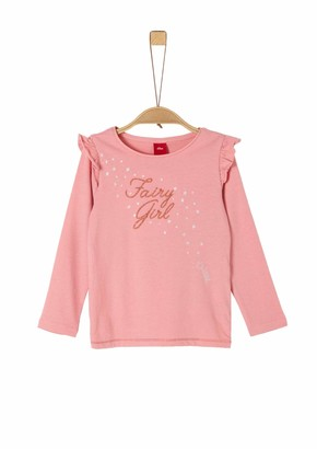 S'Oliver Girl's 53.911.31.7602 Long Sleeve Top