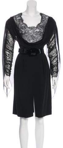 Chanel Silk Lace Dress