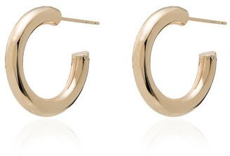 Loren Stewart Chubby Huggie Hoop Earrings