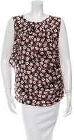 Nina Ricci Printed Silk Top w/ Tags
