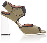 Marni Women's Neoprene Double-Strap Sandals-GREEN