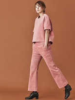 Pink Corduroy Pants Women - ShopStyle