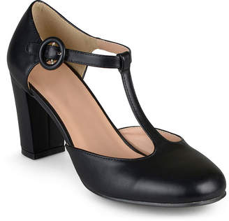 Journee Collection Womens Talie T-Strap Pumps