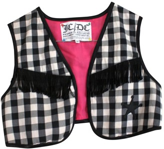 JC de CASTELBAJAC Black Cotton Jacket for Women