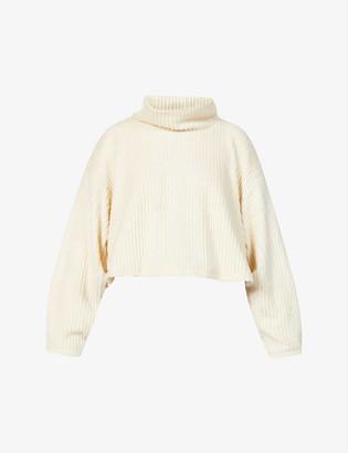 Michi Juniper turtleneck cropped knitted jumper