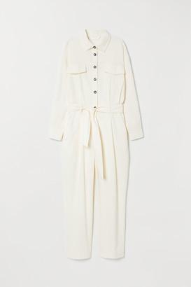 H&M Corduroy boiler suit