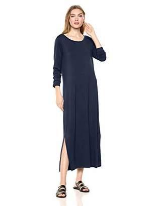 Daily Ritual Jersey Long-Sleeve Maxi Dress Casual,(EU 2XL)