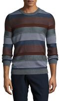 Antony Morato Wool Intarsia Sweater