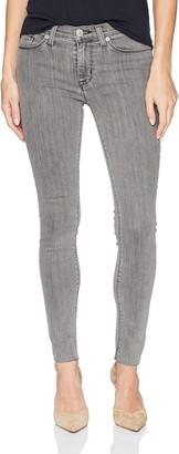 Hudson Women's Nico Midrise Super Skinny Raw Hem Jeans