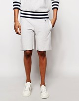 Champion Sweat Shorts With Contrast Ribbed Hem