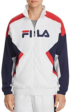 Fila Olivero Color-Block Windbreaker Jacket