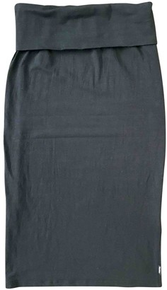 Max Mara Blue Cotton - elasthane Skirt for Women
