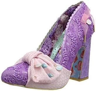 Irregular Choice Women's Ti Amo Closed Toe Heels, Purple A, 6 (39 EU)