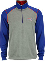 Antigua Men's Washington Capitals Breakdown Quarter-Zip Pullover