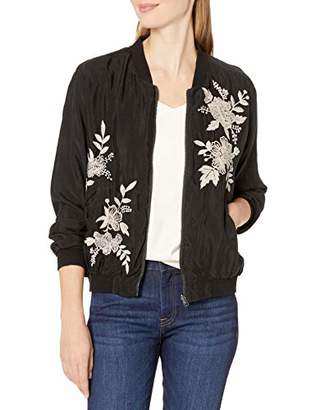 3J Workshop by Johnny was Women's Reversible Bomber Jacket with Embroidery
