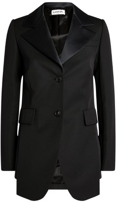 Lanvin Tailored Tuxedo Jacket