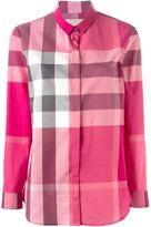 Burberry checked shirt - women - Cotton - XS