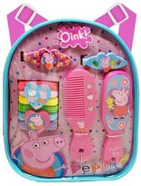 Peppa Pig PG067 Mini Backpack Hair Accessory 13 Piece Set