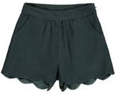 Little Karl Marc John Iscally Scallop Edge Shorts