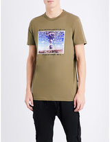 Blood Brother Graphic-print Cotton-jersey T-shirt