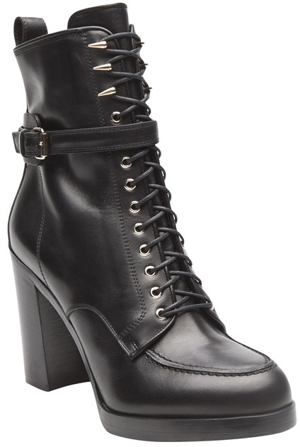 Givenchy Lace Up Side Boot