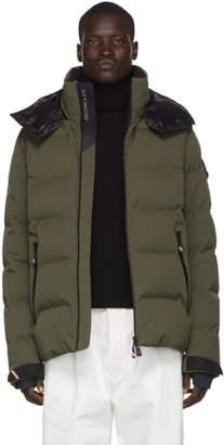 Moncler Green Down Montgetech Puffer Jacket