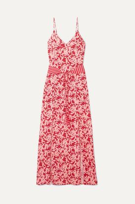 Vix Hermosa Elba Printed Voile Maxi Dress - Pink