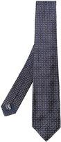 Giorgio Armani woven pattern tie