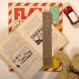 Undercover Recycled Leather Child's 'I Fell Asleep Here' Bookmark