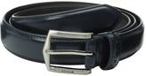 Stacy Adams 30mm Pinseal Leather Belt X Men's Belts