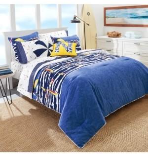 Nautica Surf the Waves 2-Piece Twin Comforter Set Bedding