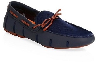 Swims Waterproof Braided Lace Loafers