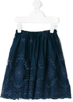 Caffe' D'orzo - Fedra embroidered skirt - kids - Cotton/Nylon - 4 yrs