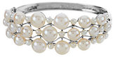 Honora As Is Cultured Pearl Large Fancy Sterling Bangle
