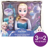 Disney Frozen Frozen Deluxe Musical Elsa Styling Head