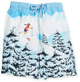 Vilebrequin Jipa Ski Resort Swim Trunks, Size 10-12