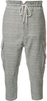 Vivienne Westwood cropped cargo trousers - men - Cotton - 48