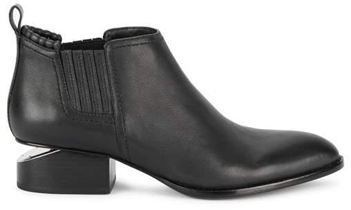 Alexander Wang Kori Black Leather Chelsea Boots