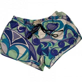 Emilio Pucci Blue Shorts for Women